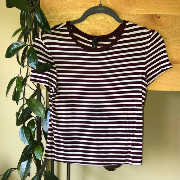 Forever 21 Tops - Striped tee shirt.